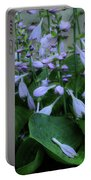 Blooming Hosta Portable Battery Charger