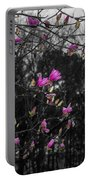 Blooming In The Rain Portable Battery Charger