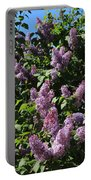 Blooming Lilacs Portable Battery Charger
