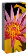 Blooming Lotus Flower Portable Battery Charger