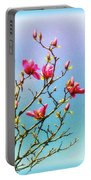 Blooming Magnolia Portable Battery Charger