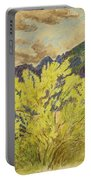 Blooming Palo Verde Portable Battery Charger