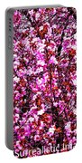 Blooming Pink Portable Battery Charger