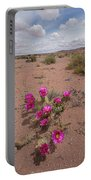 Blooming Prickley Pear Portable Battery Charger