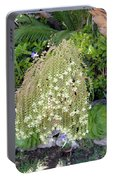 Blooming Succulent Plant. Amazing Portable Battery Charger