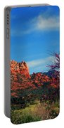 Blooming Tree In Sedona Portable Battery Charger