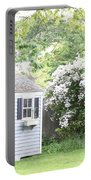 Blooming Tree Next To Shed Portable Battery Charger