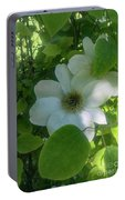 Blooms In Vine Portable Battery Charger