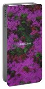 Blooms Portable Battery Charger