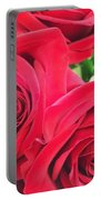 Blooms Of Red Portable Battery Charger