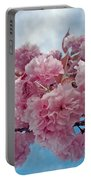 Blossom Bliss Portable Battery Charger