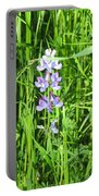 Blossom In The Grass Portable Battery Charger
