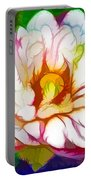 Blossom Lotus Flower Portable Battery Charger