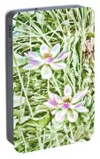 Blossom Pink Lotus Flower Portable Battery Charger