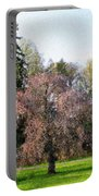 Blossom Tree Impressionist Portable Battery Charger