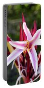 Blossoming Beauty Portable Battery Charger