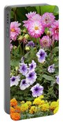 Blossoming Flowers Portable Battery Charger