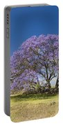 Blossoming Jacaranda Portable Battery Charger