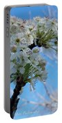 Blossoming Pear Portable Battery Charger