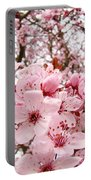 Blossoms Art Spring Pink Tree Blossom Floral Baslee Troutman Portable Battery Charger