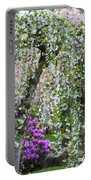 Blossoms Galore Portable Battery Charger by Carol Groenen