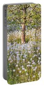 Blossoms Growing In A Fruit Orchard In Portable Battery Charger