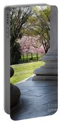 Blossoms Of The Columns Portable Battery Charger