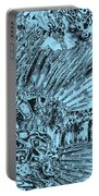 Blue Abstract - Lionfish Portable Battery Charger