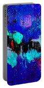 Blue Abstract 55698 Portable Battery Charger