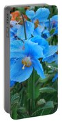Blue After The Rain Portable Battery Charger