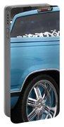 Blue Portable Battery Charger