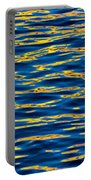 Blue And Gold Portable Battery Charger