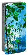 Nature's Gifts Of Blue And Green Portable Battery Charger