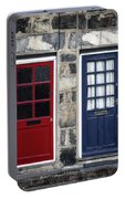 Blue And Red Doors Portable Battery Charger