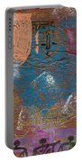 Blue Angel Watches Over Me Portable Battery Charger by Angela L Walker