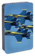Blue Angels Diamond Formation Portable Battery Charger