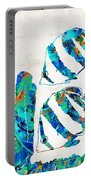Blue Angels Fish Art By Sharon Cummings Portable Battery Charger