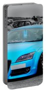 Blue Audi Portable Battery Charger