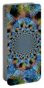 Blue Bling Portable Battery Charger
