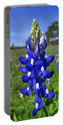 Blue Bonnet Portable Battery Charger