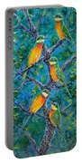 Blue Breasted Bee Eater Portable Battery Charger
