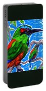 Blue Browed Motmot Portable Battery Charger