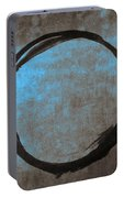 Blue Brown Enso Portable Battery Charger