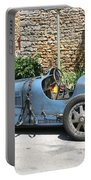 Blue Bugatti Oldtimer Portable Battery Charger