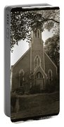 Blue Church In Gloucester Portable Battery Charger