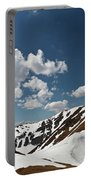 Blue Cloudy Sky Over Spring Tatra Mountains, Poland, Europe Portable Battery Charger