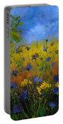 Blue Cornflowers 7761 Portable Battery Charger