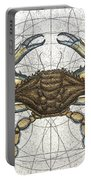 Blue Crab Portable Battery Charger by Charles Harden