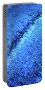 Blue Curves Portable Battery Charger by Todd Blanchard