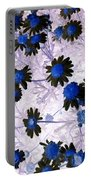 Blue Daisy Portable Battery Charger
